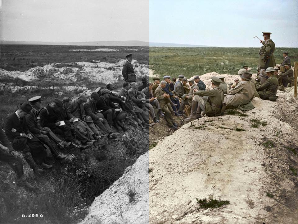 ColourizationHalf - currie at vimy
