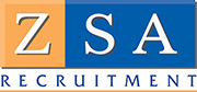 ZSA RECRUITMENT Logo