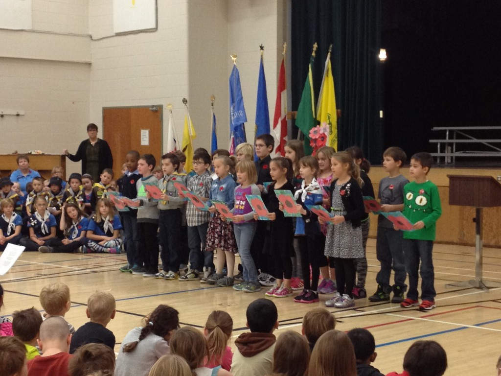 Greentree School, grade 3; Drumheller, AB