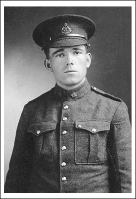 Joseph Kaeble, VC, MM. A bust of Kaeble stands at the Valiants Memorial in Ottawa.Photo: Canada, Department of National Defence