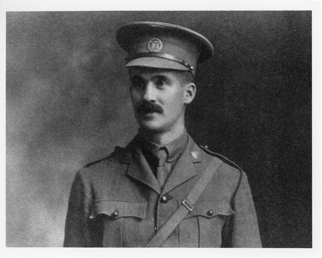 Captain Percival Molson in uniform, circa 1915. Photo: McGill University Archives, PR041491