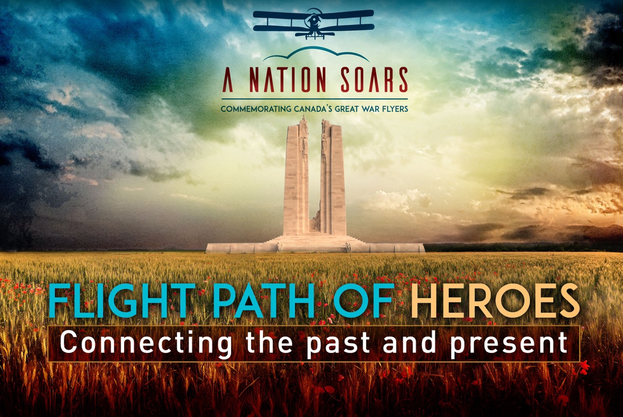 May-October, Cross-Canada Tour - Flight Path of Heroes