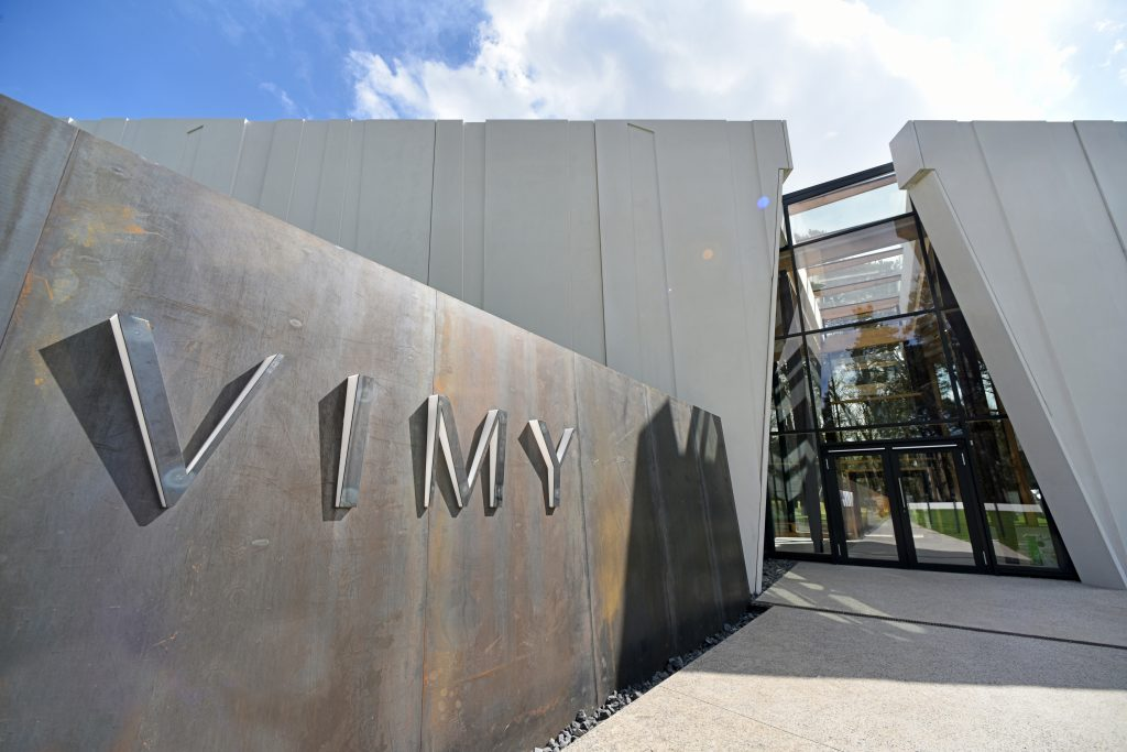 Entrance: Vimy Visitor Education Centre